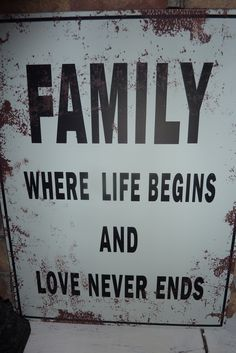 Mine thank God that no one can break our family...