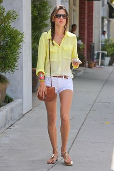 Alessandra Ambrosio summer outfit