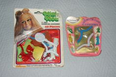 Shillman Mini Mod Barbie Doll Accessories Boots Et Around The Clock Hangers | eBay