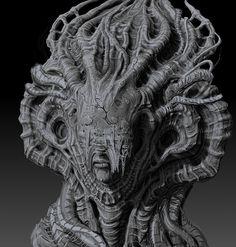 """Mysterious Sculpture"", Tomasz Strzalkowski"
