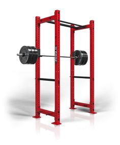 Rogue RML-390C Power Rack  --has a rack for lifting, pull up bar, and could be doubled up on for lifting with the hubby :)