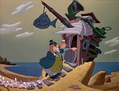 *THE OYSTERS, WALRUS & CARPENTER ~ Alice in Wonderland, 1951