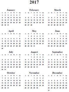 Free Printable  Calendar   Calendars