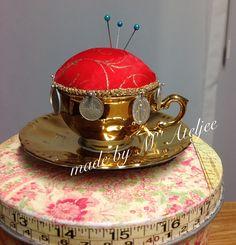 Speldenkussenkop / pincushion cup