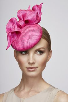 Juliette Botterill Millinery SS 2015 | Bow Detail Cocktail Hat
