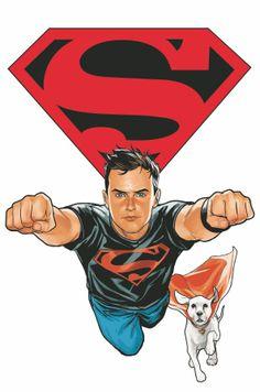 Superboy & Krypto ~ Phil Noto