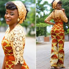 There are a lot of ways to acquire ourselves beautified subsequent to an aso ebi styleNigerian Yoruba dress styles , Even if you are thinking of what to create and slay with an Nigerian Yoruba dress styles. African Inspired Fashion, African Men Fashion, African Dresses For Women, African Print Dresses, Africa Fashion, African Wear, African Attire, Ankara Fashion, African Prints