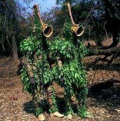 Yaie Masquerade from Burkina Faso