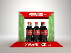 World cup fastline display for Coca Cola bottles