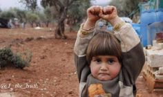 THIS SYRIAN CHILD THOUGHT THE CAMERA WAS A WEAPON......