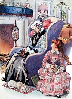 Louisa May Alcott's Little Women Illustrated by Rene Cloke