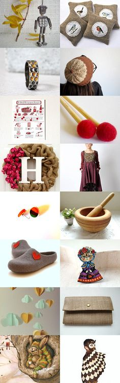 A winter morning by Marion Brégier on Etsy--Pinned+with+TreasuryPin.com