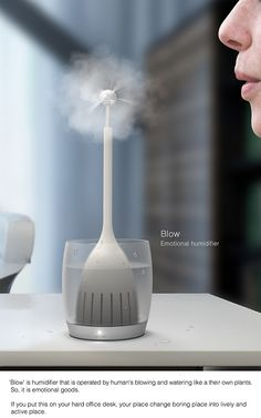Blow - Humidifier on Behance