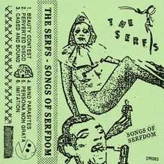 The Serfs - Songs of Serfdom, by Detriti Records Doom Metal Bands, Punk Poster, Grunge, Naive Art, Design Reference, Graphic Design Inspiration, Cover Art, Album Covers, Art Inspo