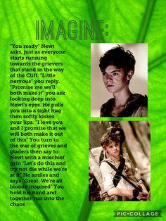 (Continue in comments) #Imagine #Newt #MazeRunner