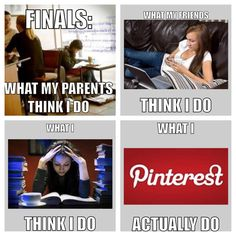 Finals week. So true. If you're reading this right now, you can't deny this is you.
