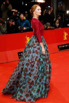 Lea Seydoux in Prada at the 2014 Berlin Film Festival.
