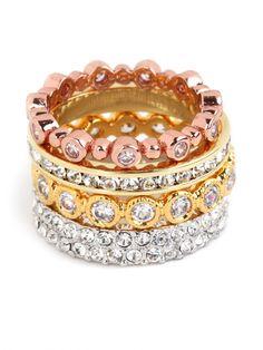 ice princess ring set / baublebar