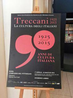 Le parole segrete: La Mostra - Treccani 1925-2015