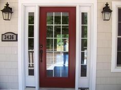 Benjamin Moore Cottage Red  What color front door? Pic included. - Home Decorating & Design Forum - GardenWeb