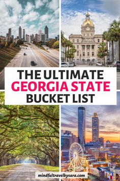 Looking for the Best Things to Do in Georgia USA? Travel through the Peach State by doing some of the coolest and Fun Things to Do in Georgia state. Best Places To Travel, Best Cities, Cool Places To Visit, Places To Go, Vacation Places In Usa, Travel Things, Georgia Usa, Savannah Georgia, Atlanta Georgia
