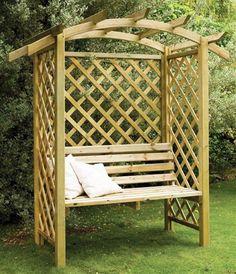 Galway Arbour Seat - Garden Arbour by Forest Garden