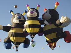 Hot Air Balloon Fiesta! IS A MUST SEE!!