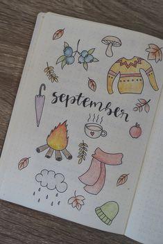 #bulletjournal #bujo #stationary #journaling #calligraphy #planner #September #autumn #fall