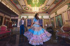 Indian bride and groom. Blue bridal lehenga. #indianwedding #rajasthan #newdelhi #mumbai Indian Bride And Groom, Blue Bridal, Bridal Lehenga, Wedding Photography, Gallery, Pictures, Wedding Portraits, Fashion Tips, Wedding Shot