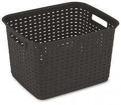 Weave Basket - Espresso / Tall