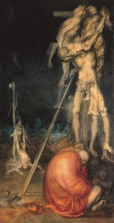 "Riccardo Tommasi Ferroni [Pietrasanta (Lu) - Camaiore (Lu) 2000], ""Deposizione"", 1960. Olio su tela cm155x75 Eventi di pulcherrima durante Roma Art Week"