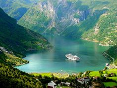 During the ice ages, deep valleys and narrow inlets filled with ocean water, creating the natural wonders that the modern world often refers to as fjords.