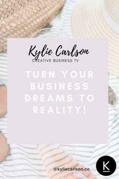 Do you dream of starting your own business? In this video, Kylie shows you how to drop the doubt and take action. She explains that as long as you have desire for your dream business ideas you should trust your instincts and begin.