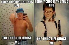 Meme Thug Life se espalhou pela web; entenda o motivo