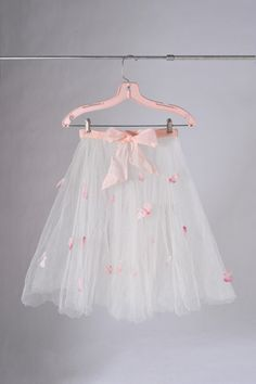 1950's Rose Petal Dance Skirt Costume The Rose by missfarfalla via Etsy.