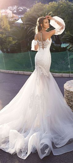 Tina Valerdi 2018 Bridal Collection - Wedding Dresses #bridalgown #weddinggown #weddingdress #bridedress