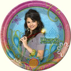 wizards of waverly place plate
