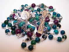 Unbreakable Rosary Of Ireland Our Lady Of Knock by robertd5198, $420.00