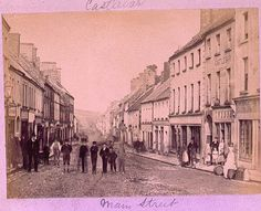 Main Street, Castlebar, Co. Mayo by National Library of Ireland on The Commons, via Flickr