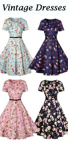 Retro Pin Up Dress