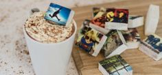 UK-based Boomf enables anyone to put their favorite Instagram photos onto marshmallow candy. This provides a novel way to share your social media content offline