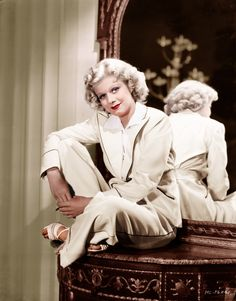 Jean Harlow| Be Inspirational ❥|Mz. Manerz: Being well dressed is a beautiful form of confidence, happiness & politeness
