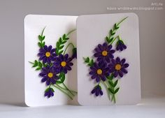 New For Simple Paper Quilling Flowers Patterns Paper Quilling Cards, Paper Quilling Flowers, Paper Flower Art, Paper Quilling Patterns, Quilled Paper Art, Quilling Craft, Flower Crafts, Quilling Ideas, Paper Quilling For Beginners