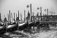 Venice Italy Art - Winter in Venice  by Yuri Santin