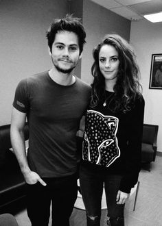 Dylan O'Brien [i mean he's just about the cutest thing ever] & Kaya Scodelario