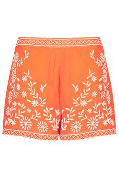 Trailing Flower Shorts - Shorts - Clothing