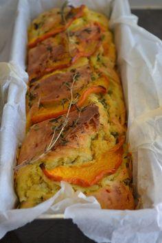 The Recipe Suitcase: Savoury Wednesday: Herzhafter Kürbiskuchen mit Thy...
