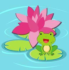 Rana-feliz / Happy frog... croac!