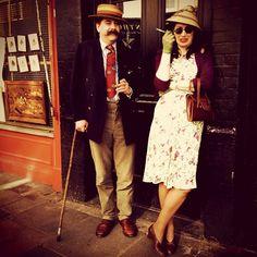 Notting Hill people Cynthia and John by @AzaharaCabrera