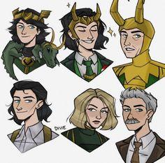 Loki Tv, Marvel Funny, Marvel Memes, Marvel Avengers, Comics Spiderman, Marvel Comics, Marvel Drawings, Marvel Fan Art, Otaku